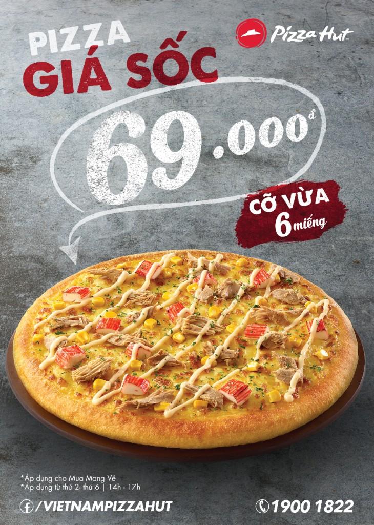 Mẫu tờ rơi pizza