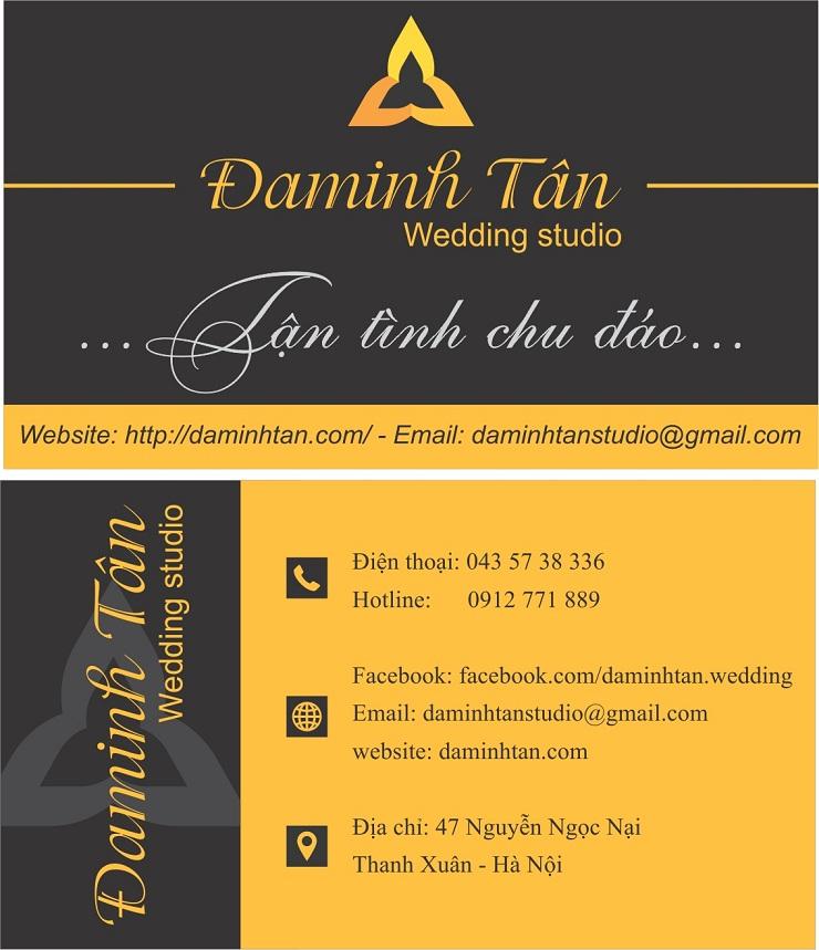 name card Daminh Tan wedding 01